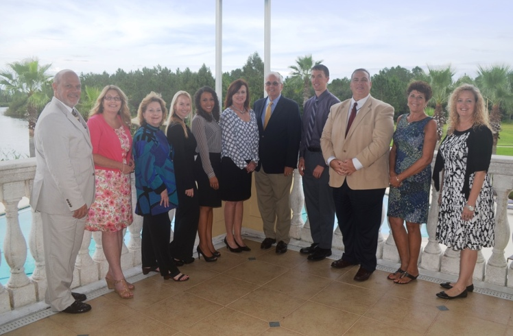 2015-2016 Florida Public Relations Association (FPRA) Volusia/Flagler chapter board members.